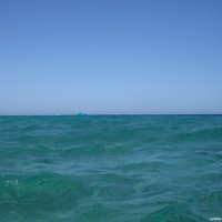 Blick hinaus auf's Meer, September 2009