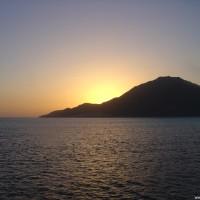 Sonnenuntergang, März 2005
