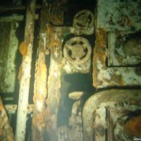 Ein Besuch des Maschinenraumes lohnt auf alle Fälle, September 2002