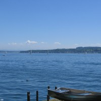 Blick auf den See von der Promenade aus, Mai 2005
