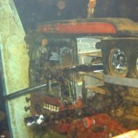 Cockpit der Cesna, Oktober 2005