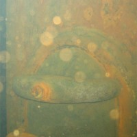 Verschluß an einem Pfeiler, Oktober 2005