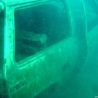 Die Beifahrertür lädt zum Einsteigen ein, Mai 2005
