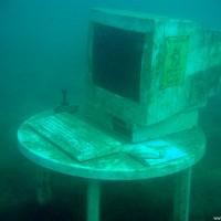 Sieh da, ein PC kurz vor dem Bootswrack, Mai 2005