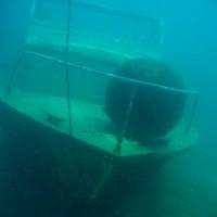 Das Bootswrack, Mai 2005