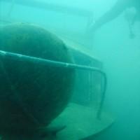 Das Bootswrack von ganz nah, Mai 2005