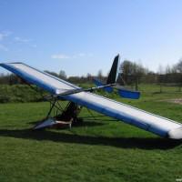 Das Ultraleichtflugzeug wurde kurz nach unserem 2006er Besuch versenkt und schwebt nun in 17 Metern Tiefe vor Einstieg 0, April 2006