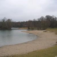 Der abgetrennte Bereich zum planschen, März 2006