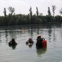 Martin, Gerhard und Alex tauchen ab, Juli 2005