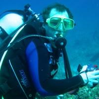 Holger beim Kampf mit der Kamera..., Januar 2007