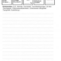 iQ Logbook M / sub-base Logbuch - 1 Tauchgang pro Seite v1