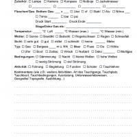 iQ Logbook M / sub-base Logbuch - 1 Tauchgang pro Seite v3