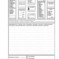 PADI Adventure Log / iQ Logbuch L - 1 Tauchgang pro Seite v2 (Florian)