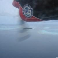 Blick aus dem Wasserflugzeug, August 2003