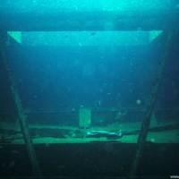 Unterdeck der MV Alma Jane Express, Oktober 2003