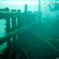 Bordwand von innen, Oktober 2003